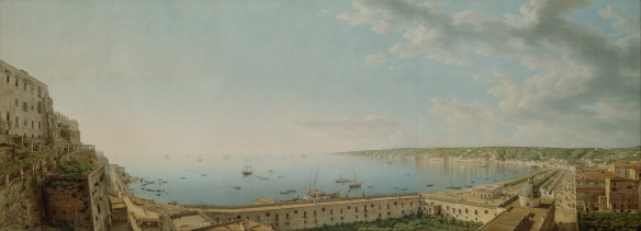 giovanni_battista_lusieri_28italian_-_a_view_of_the_bay_of_naples2c_looking_southwest_from_the_pizzofalcone_toward_capo_di_posilippo_-_google_art_project